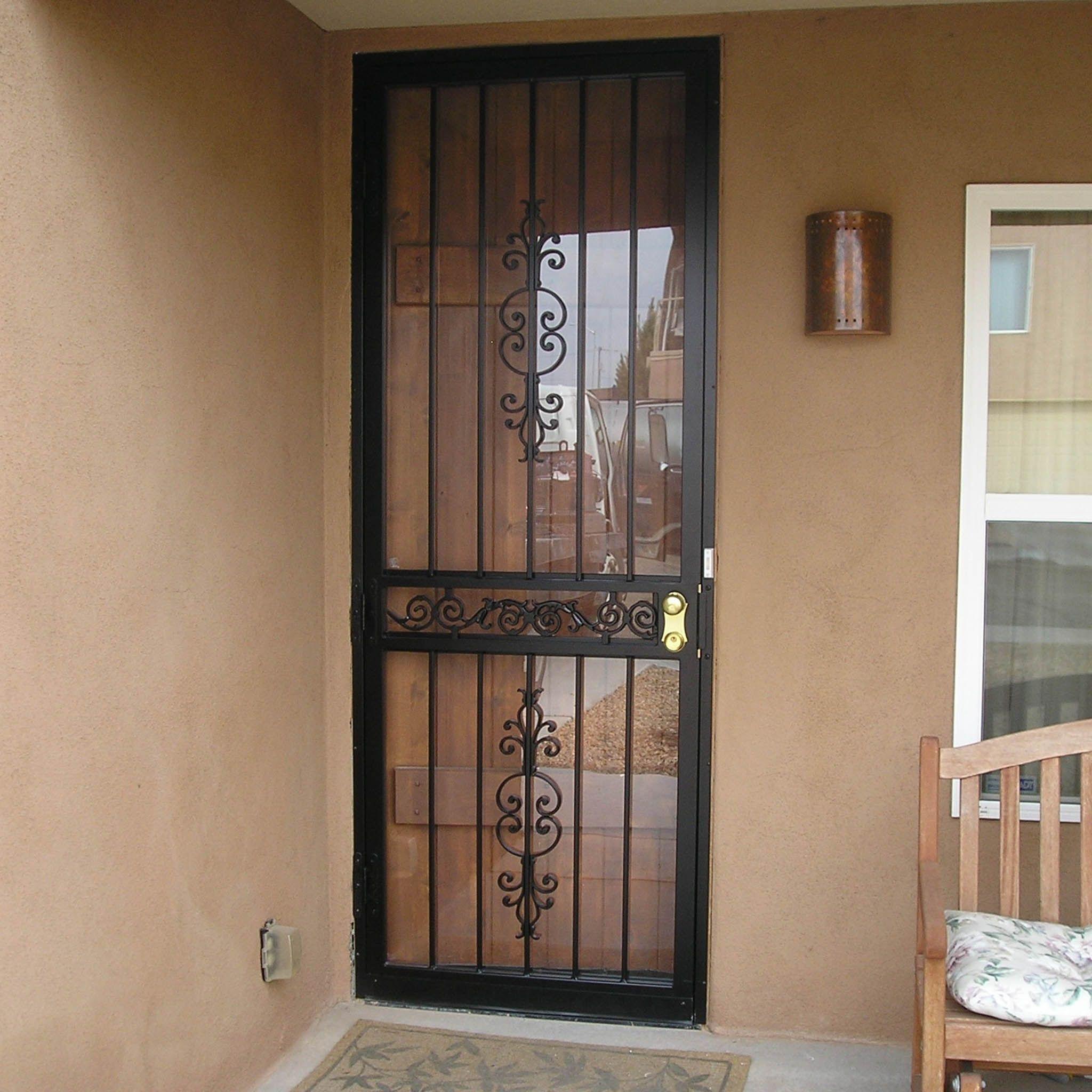 Storm Doors Albuquerque Security Door Storm Door Screen Door