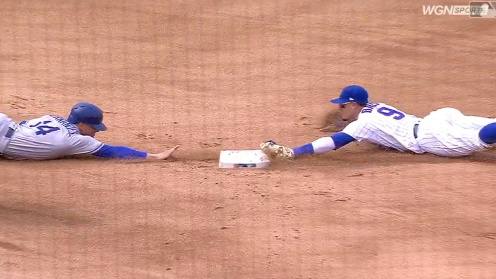 Only Javy Baez Could Have Made This Wild Solo Double Play Double Play Cubs Catcher Cubs