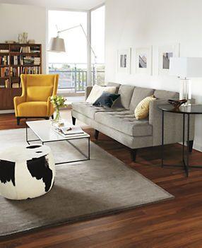 Hutton Sofas Living Room Board Via Cup Of Jo