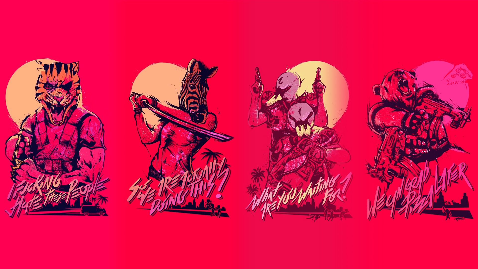 Hotline Miami 2 Wrong Number Hd Wallpaper 17 1920 X 1080