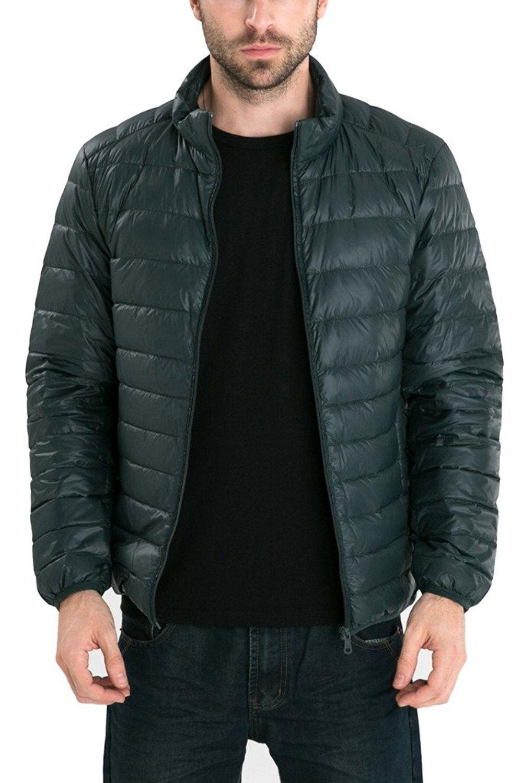 Men S Retro Lightweight Packable Down Puffer Coat Stylish Outerwear Jacket Green Us Large Asian 3xl Cr1 Stylish Outerwear Down Puffer Coat Outerwear Jackets [ 1500 x 999 Pixel ]