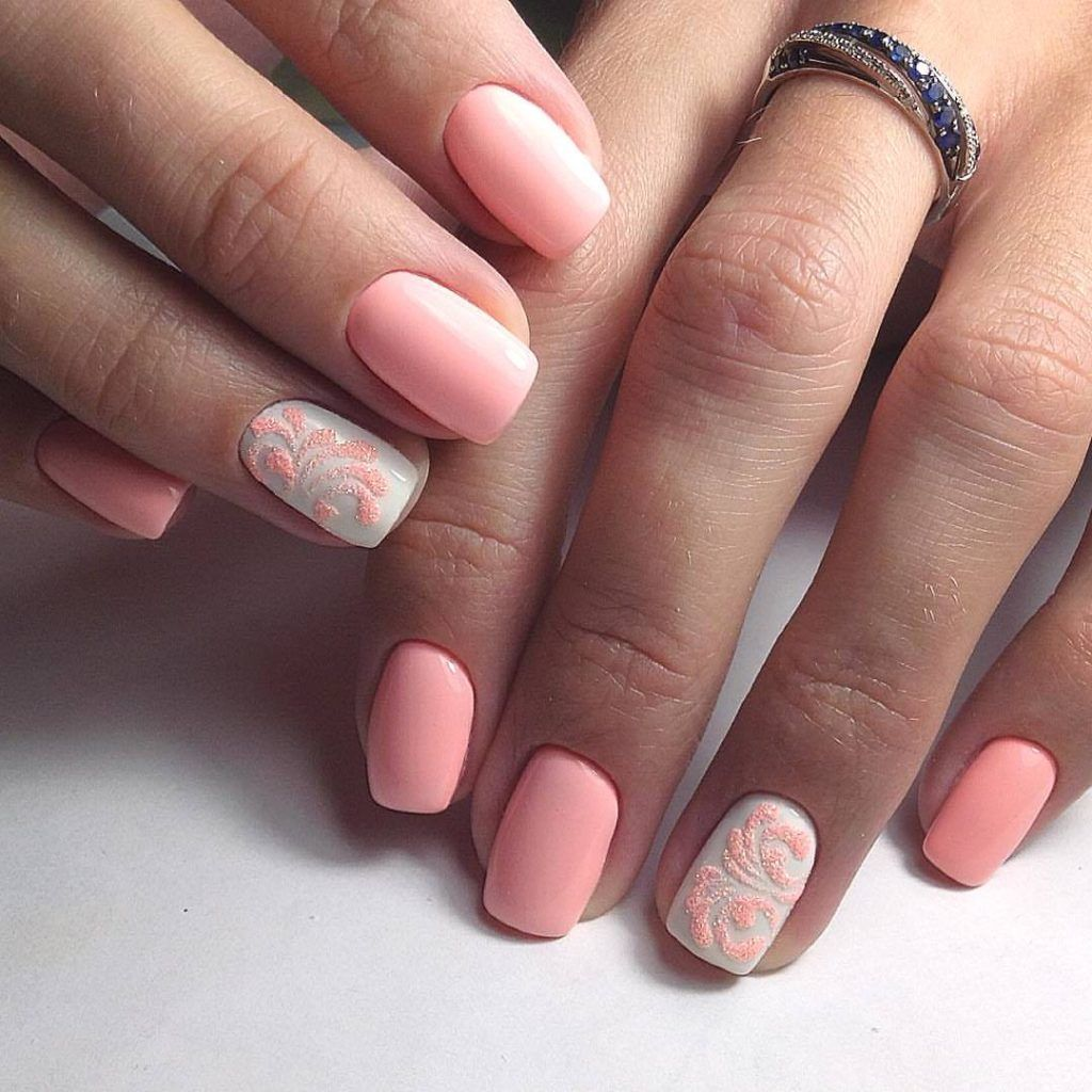 78 Most Fashionble Short Nail designs In 2019 Page 22 of