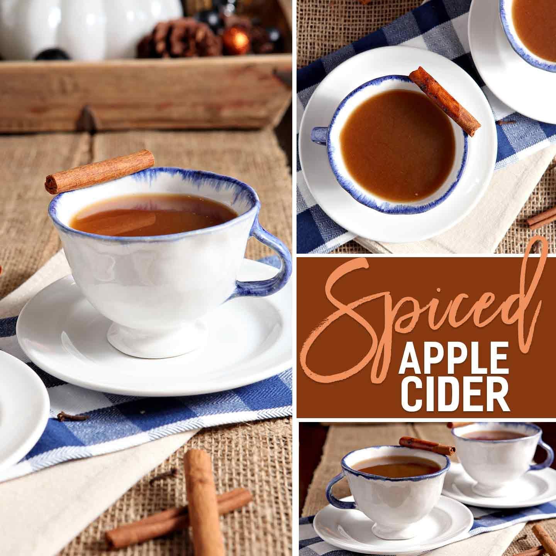 Spiced Apple Cider Recipe Apple cider, Spiced apple