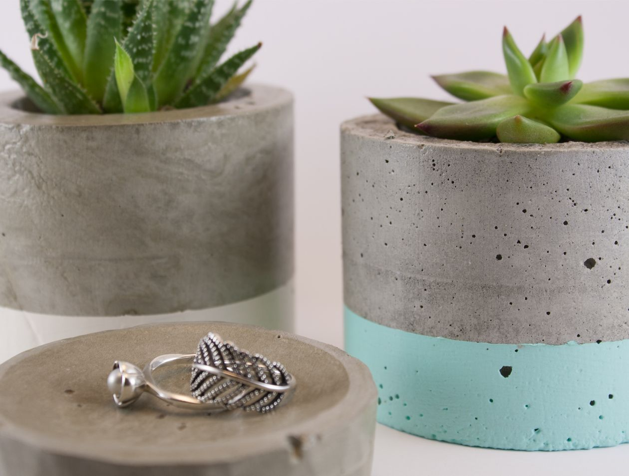 How To Make Concrete Pots And Planters   Google Search