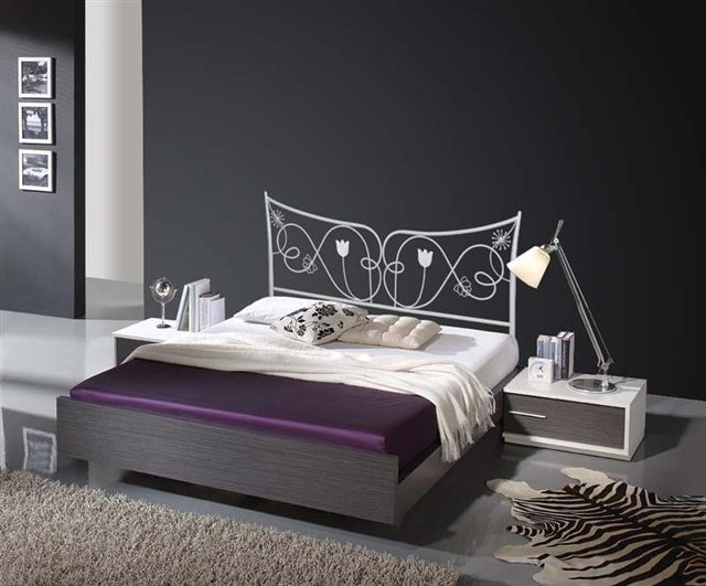 t te de lit en fer forg mod le judith d coration beltran votre magasin online de t tes de lit. Black Bedroom Furniture Sets. Home Design Ideas