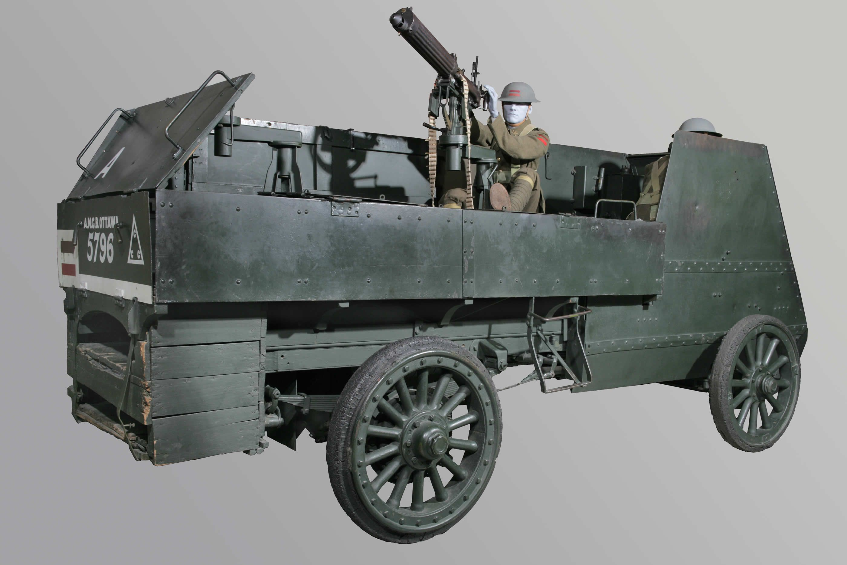 Land Transportation - Armoured Car