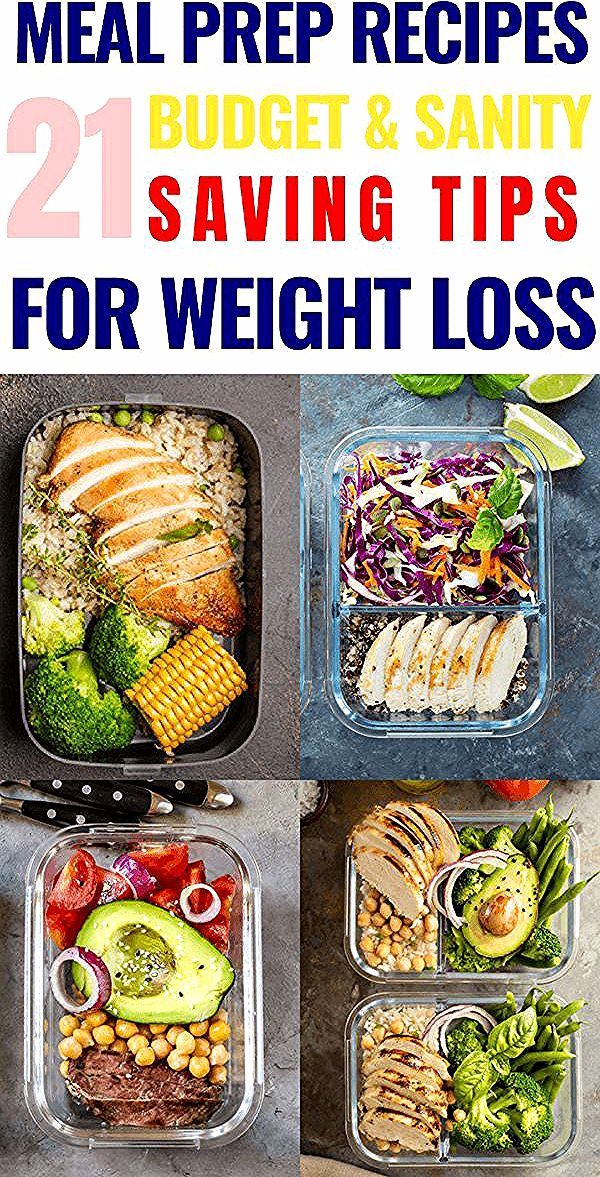 Meal Prep for the Week Meal Prep Tips You Need to Know  21 Meal Prep Recipes for Weight Loss  Ernährung  Diät  Rezepte