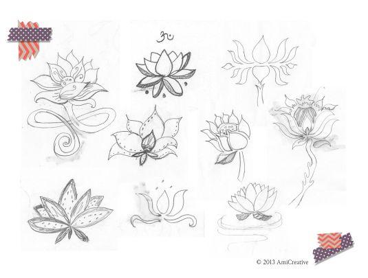 lotus-handdrawn