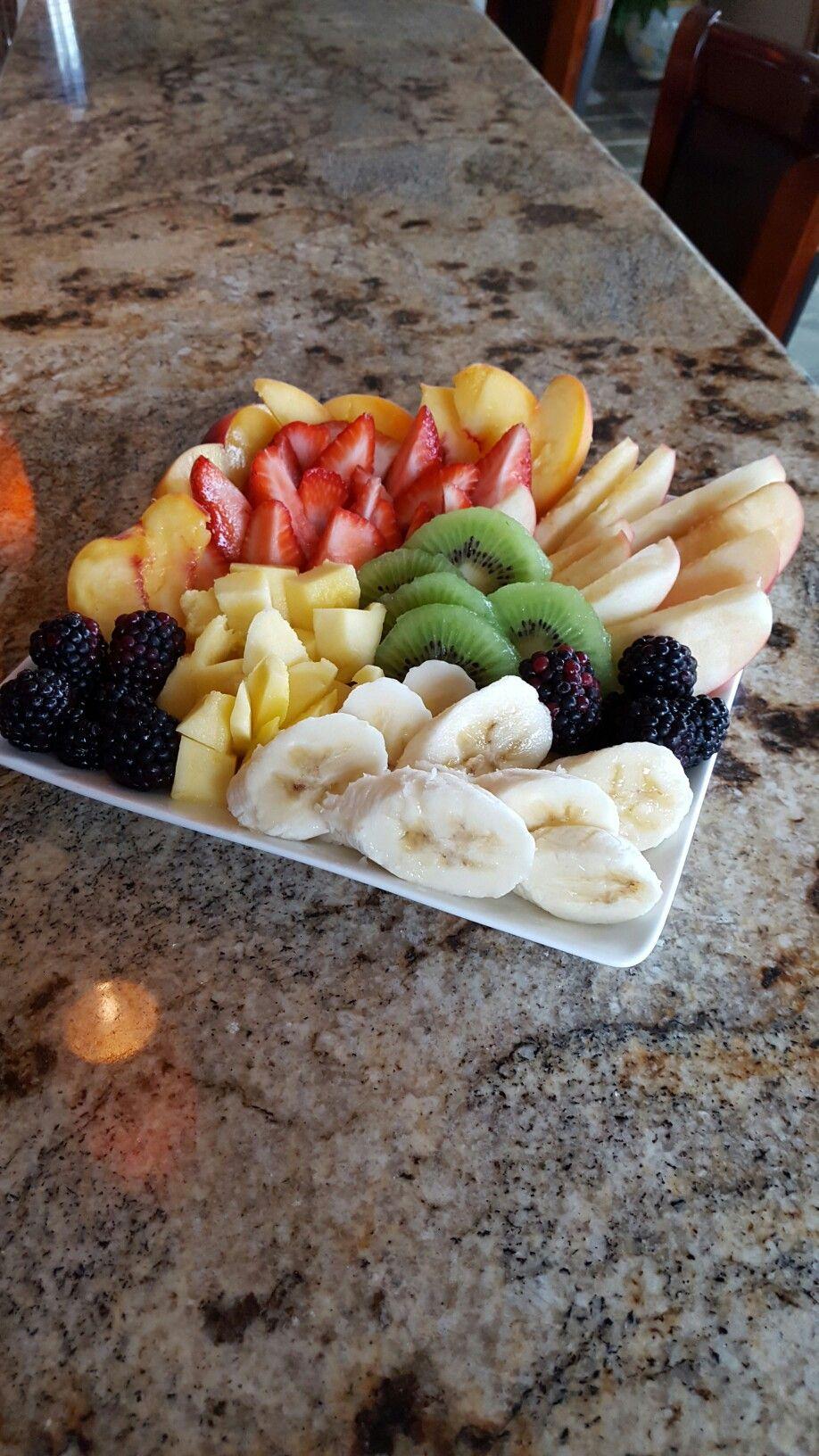 Fruit plate #fiberfruits