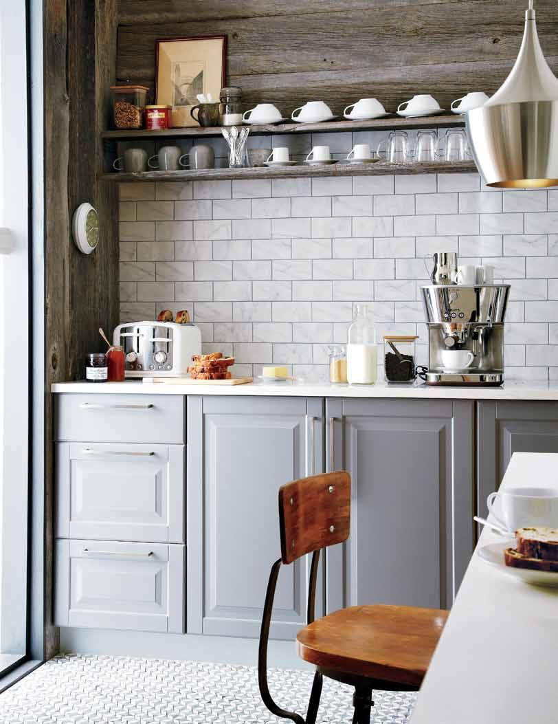 Our lidingÖ grey kitchen door fronts in the latest issue of style at