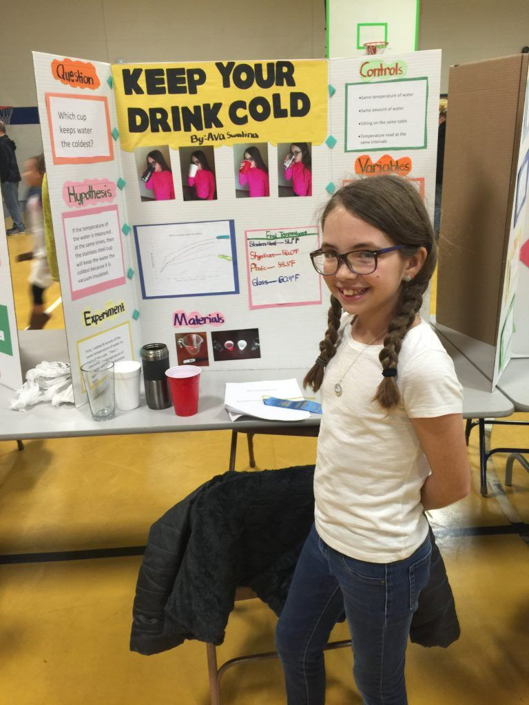 Easy 4th grade science fair project Science Elementary