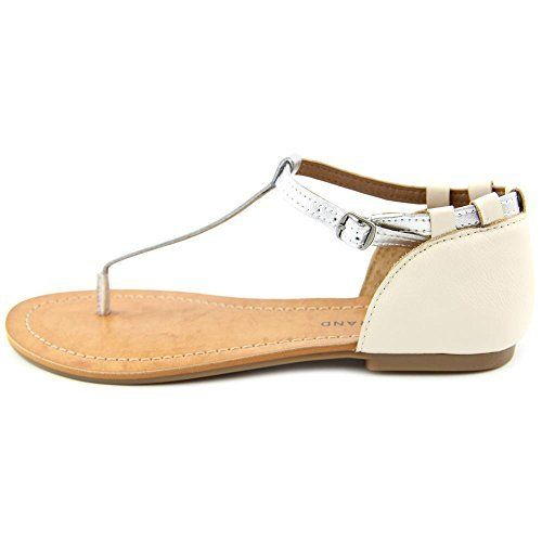 d297fa705d8 Lucky Brand Ezzra Women US 8.5 Silver Thong Sandal. The style name is Ezzra.