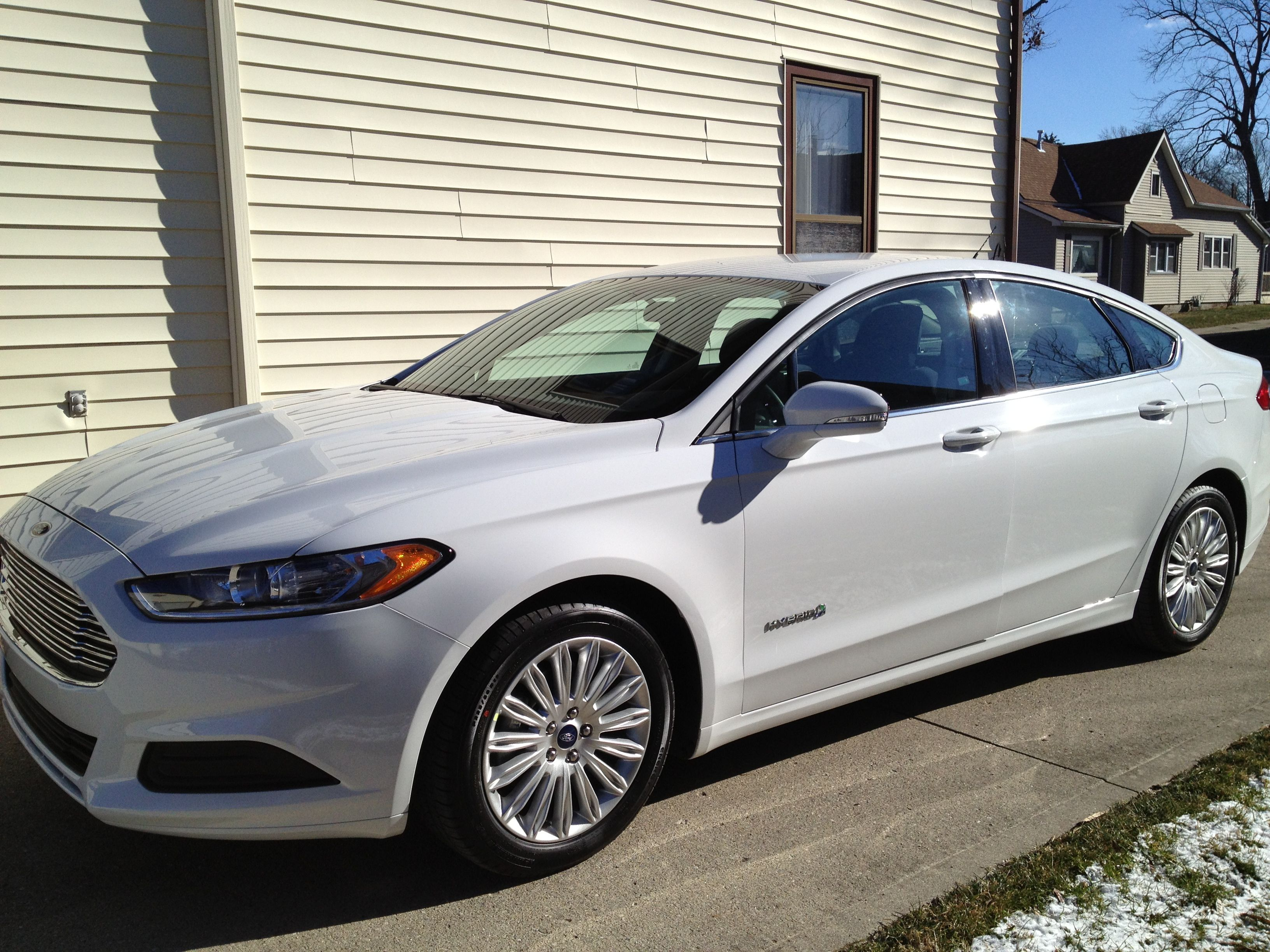 2013 Ford Fusion Hybrid Make It Black And Its Just Like Mine