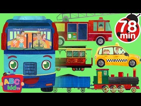 Wheels On The Bus Super Simple Songs Youtube With Images