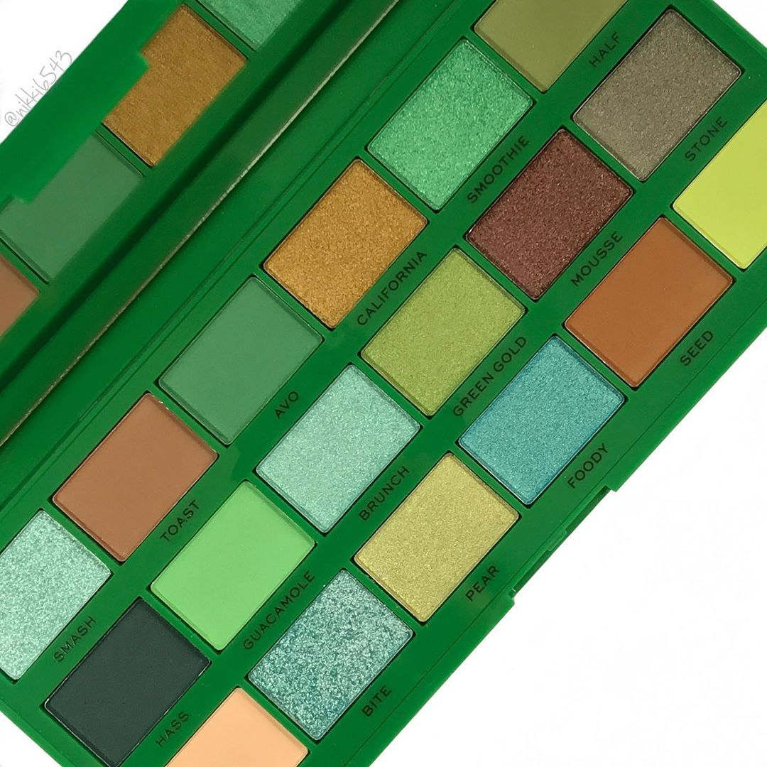 Green anyone?! iheartrevolution TASTY AVOCADO PALETTE