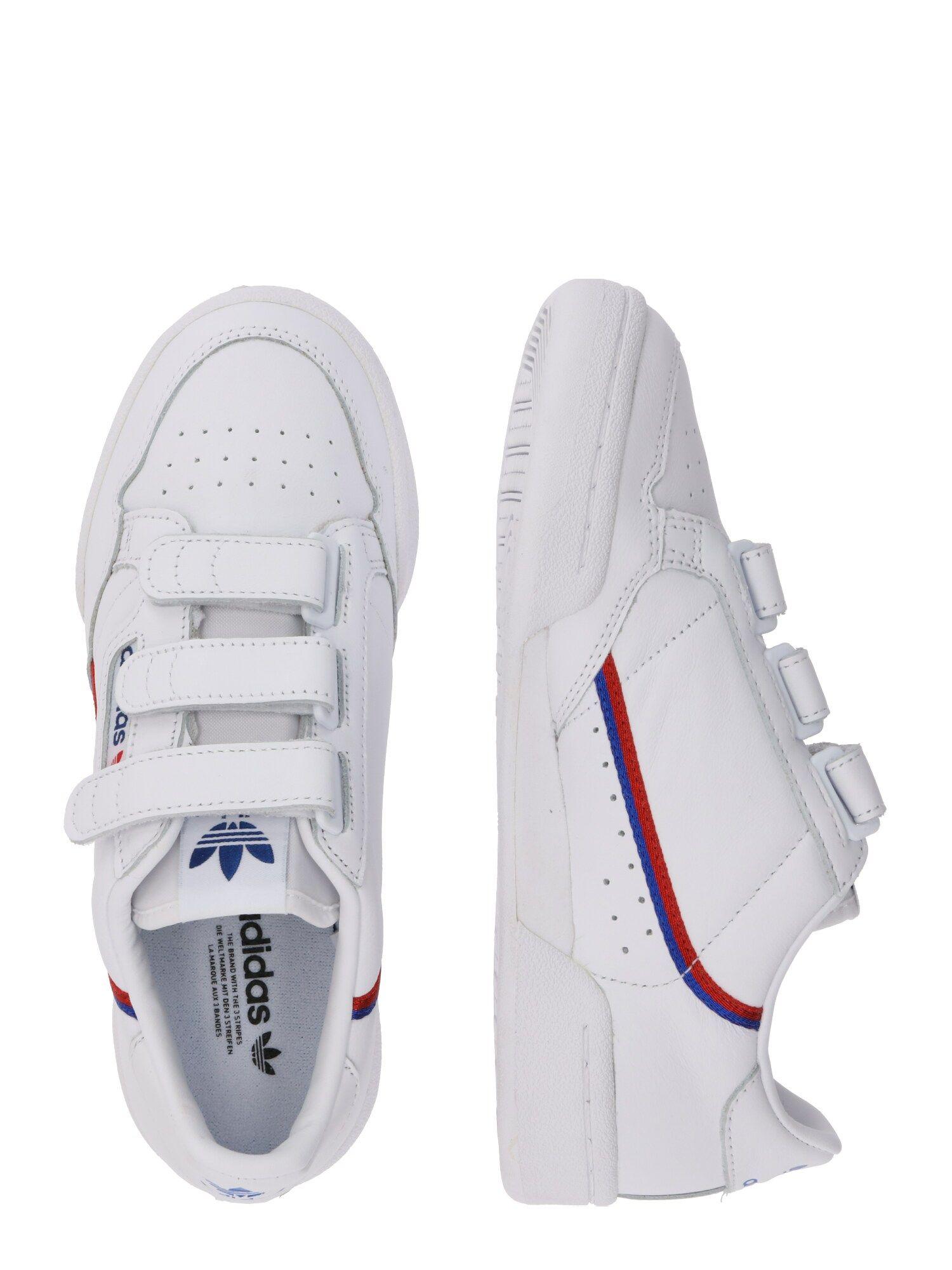 ADIDAS ORIGINALS Sneaker 'CONTINENTAL 80 W STRAP' Damen, Rot ...