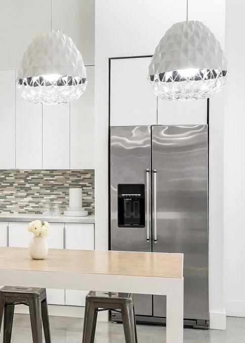 Modern · facette grande pendant details lbl lighting