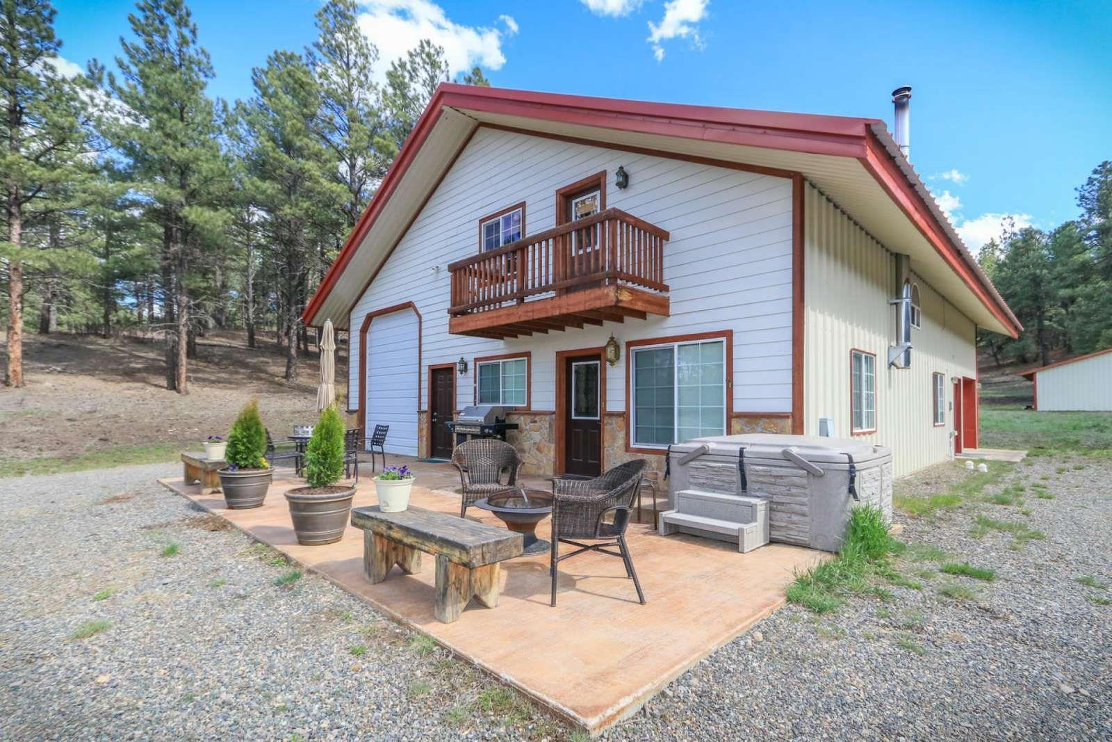 Pagosa Springs Vacation Rental Skyrocket Ranch Home Rental On Itrip Net Colorado Winter Rental Pagosa Vacation Rental Hot Tub Outdoor Pagosa Springs
