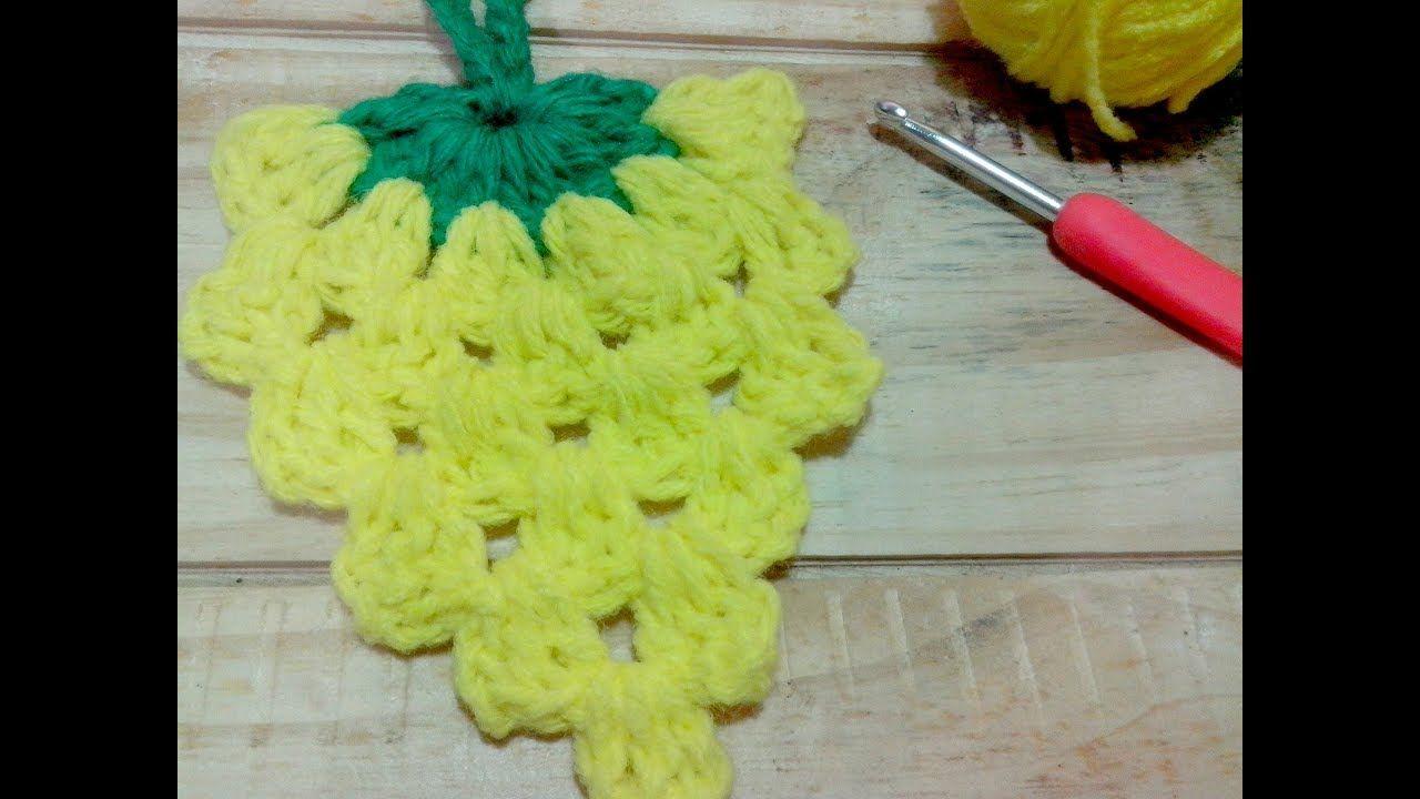 Encantador Patrón De Crochet Fácil Pañito Friso - Ideas de Patrón de ...