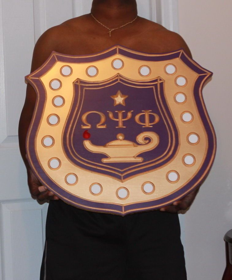 Omega Psi Phi Shield History