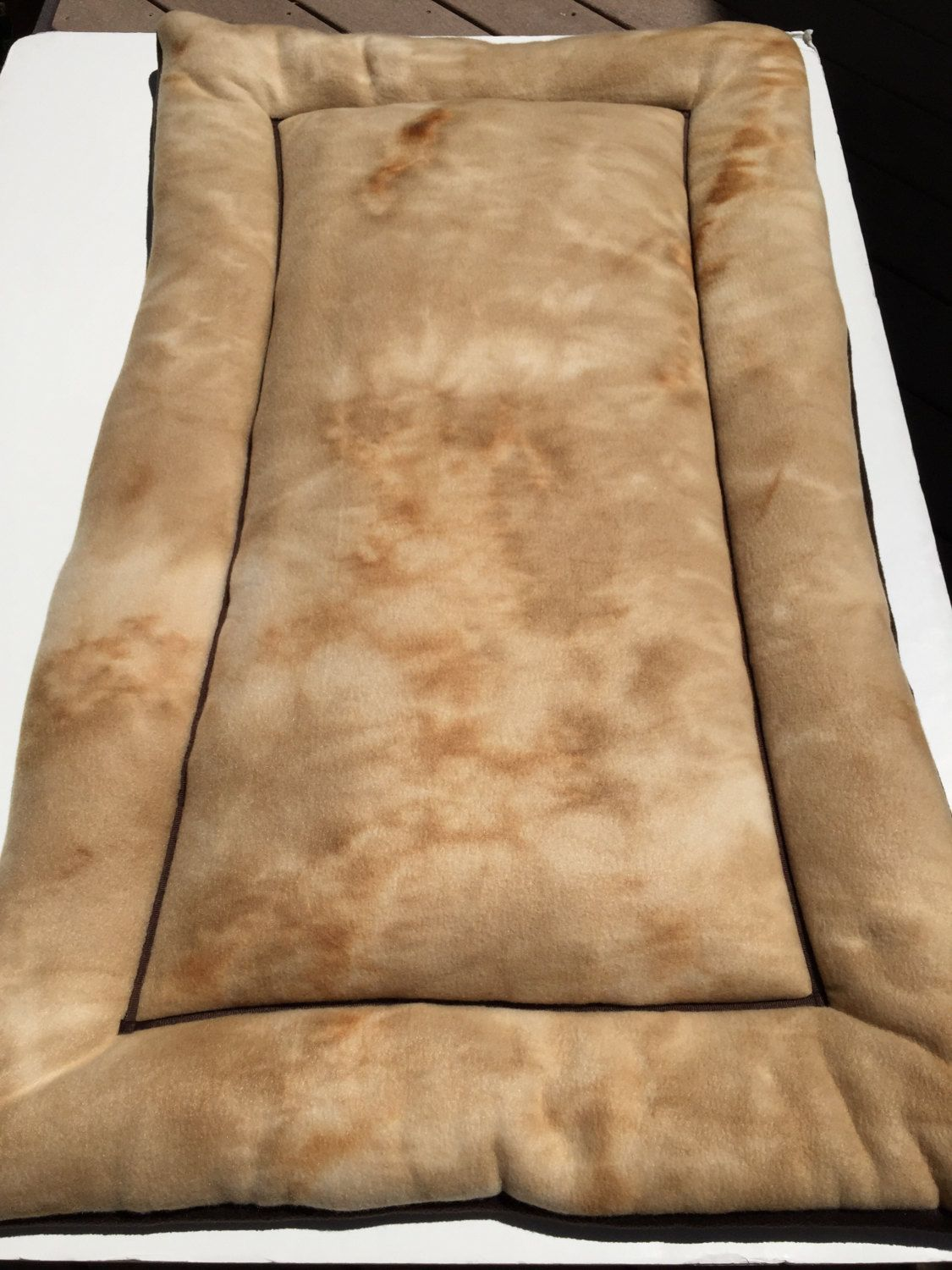 large dog bed xl crate pad dog crate pad large kennel mat fleece