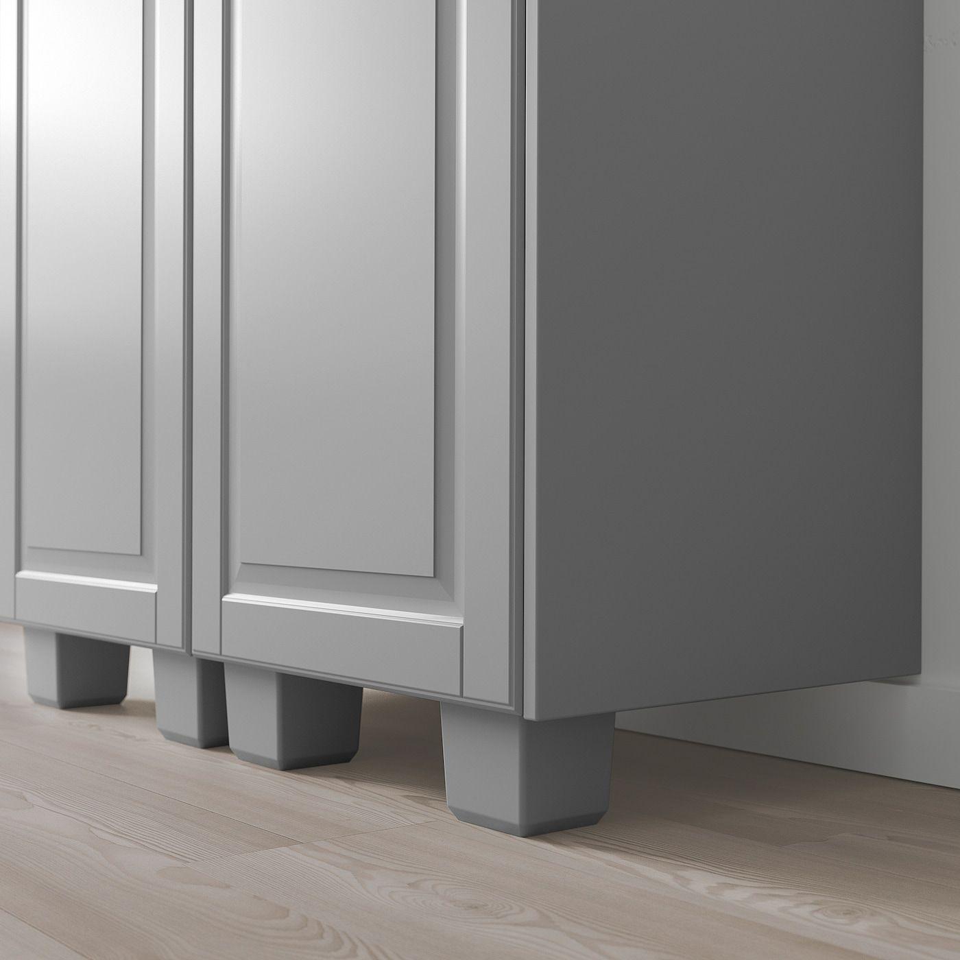 Bodbyn Leg Gray Ikea In 2020 Bodbyn Kitchen Cabinets With Legs Ikea