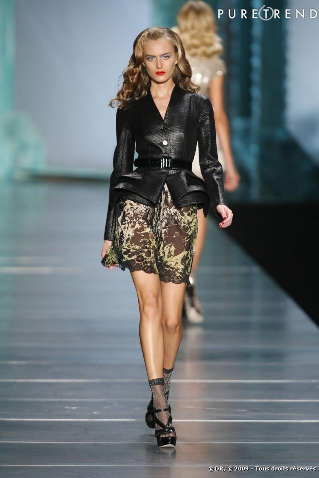Défilé Dior Printemps Eté 2010