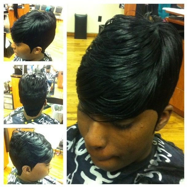Janet 28pc Quick Weave Blackwomen Short Quickweaves Janet28pc Short Black Hairstyles 27 Piece Hairstyles Quick Weave
