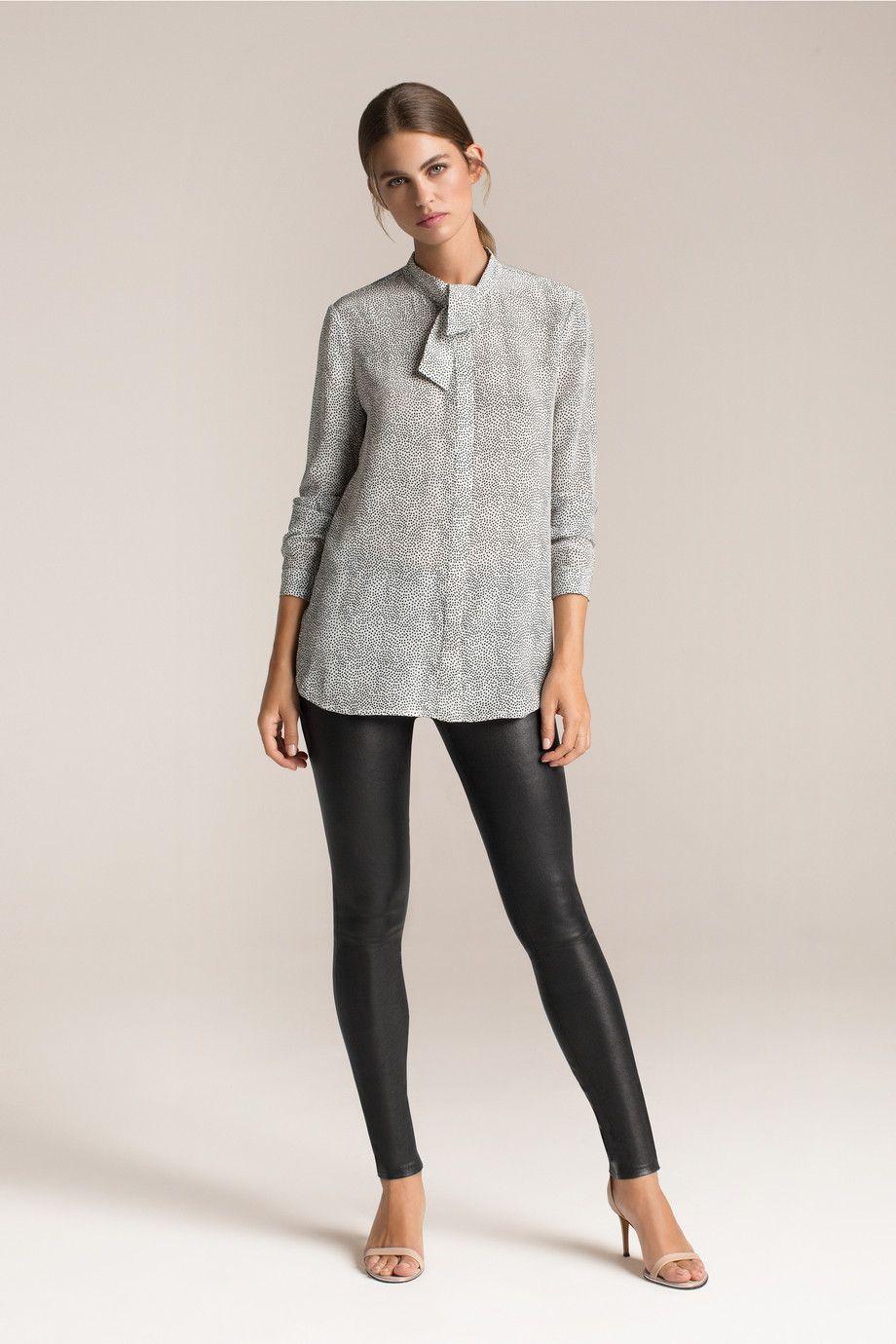 Ella printed silk crepe de chine blouse   THE OUTNET