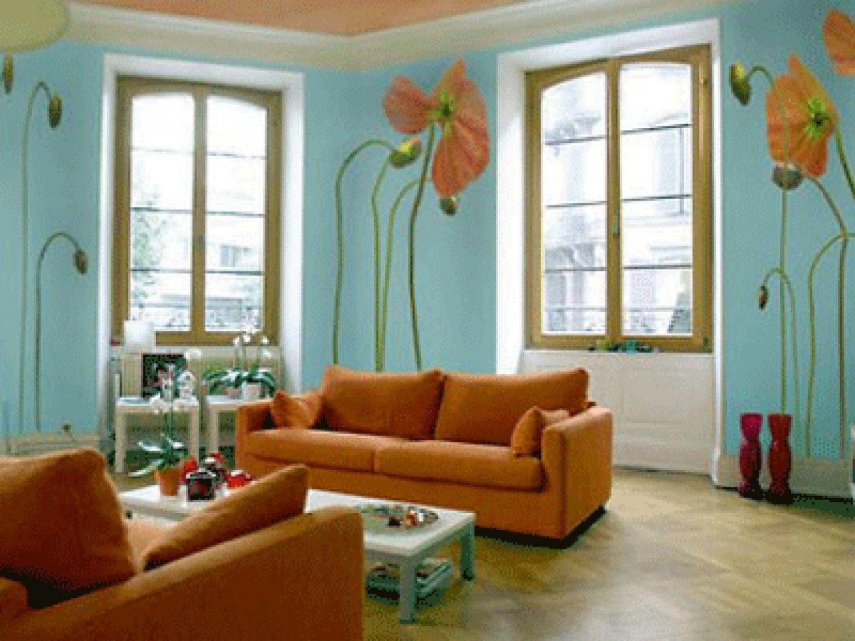 Innenfarbe im haus beeindruckende wandmalerei farben für wohnzimmer   küchen in