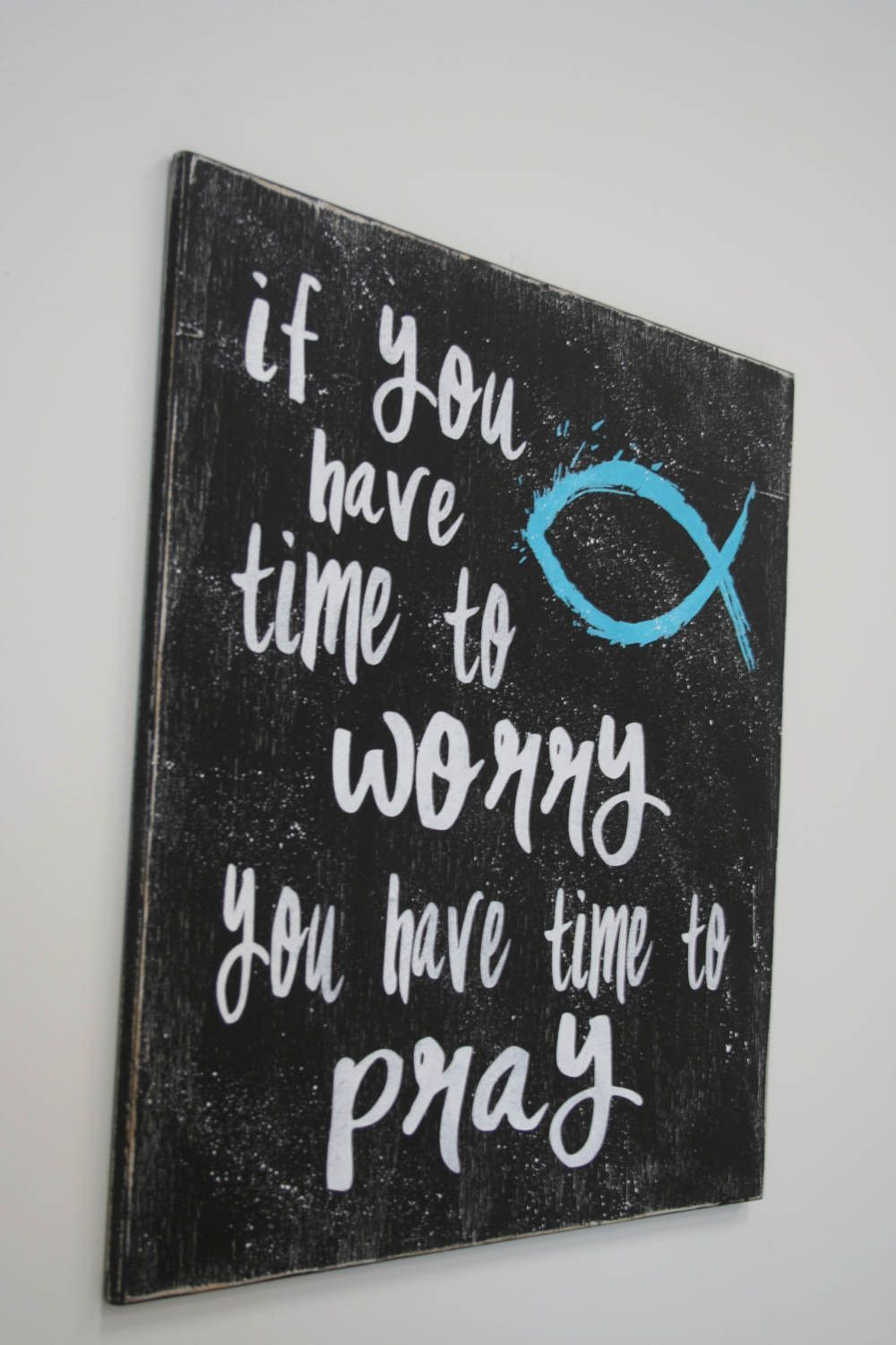 Wood sign inspirational wood sign distressed wood sign christian