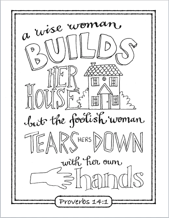 Lots of free printable scripture-based coloring pages from www ...
