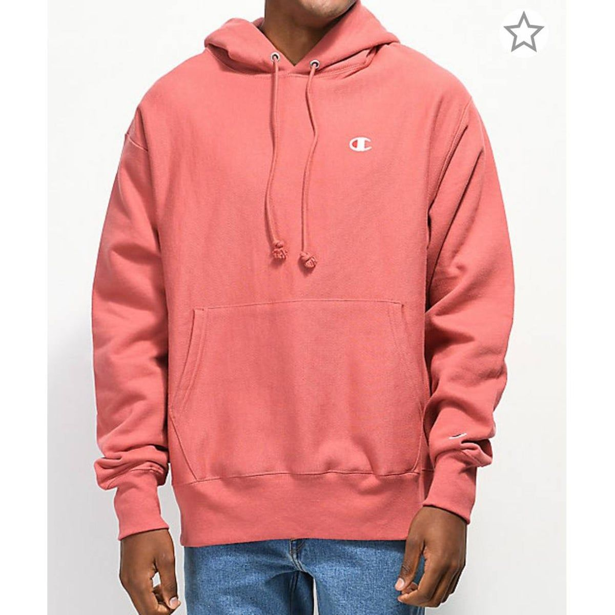 Champion Reverse Weave Pink Hoodie On Mercari Hoodies Mens Sweatshirts Hoodie Black Hoodie Men [ 1200 x 1200 Pixel ]