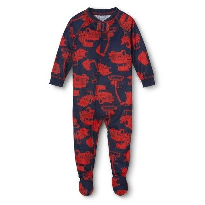 Just One You™ Made by Carter's® Toddler Boys' Power Truck Footed Sleeper