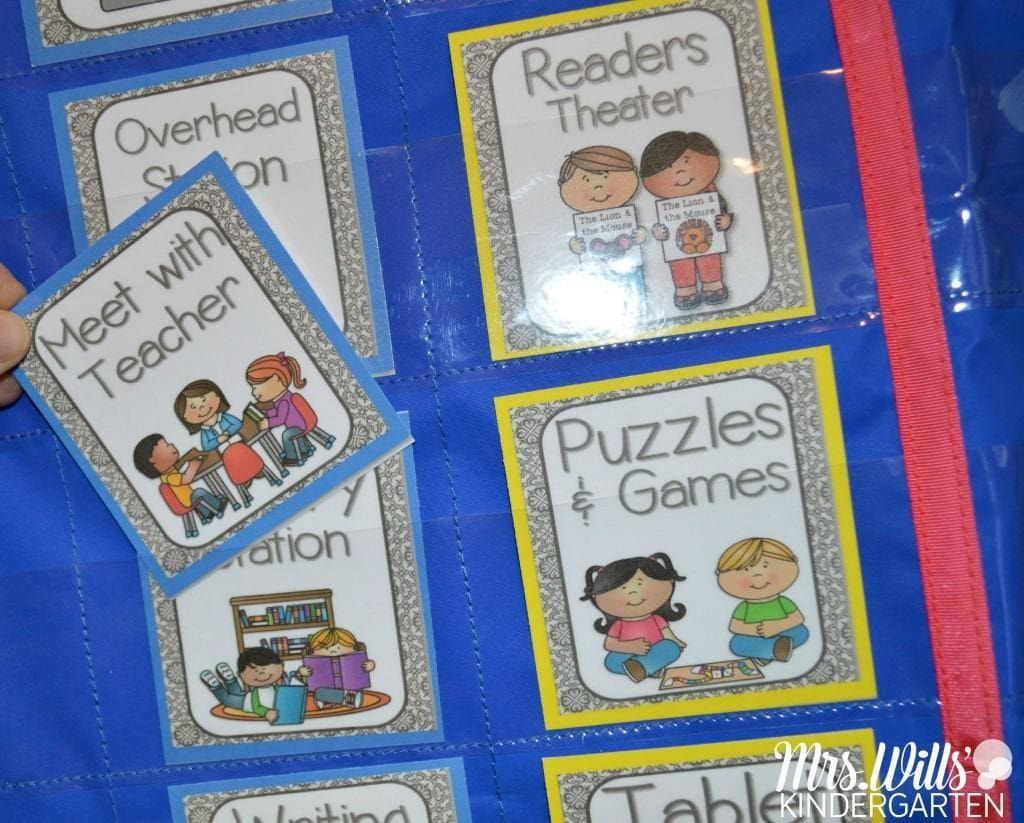 Literacy Station 'I Can' Task Cards Classroom management