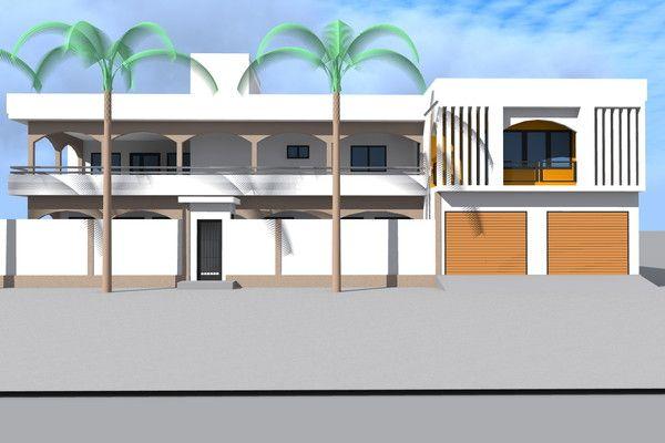 Projet DExtension DUne Maison A Baguida Au Togo  Architecture Et