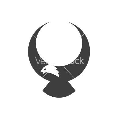 Stylized american eagle mascot vector art - Download Mascot ...