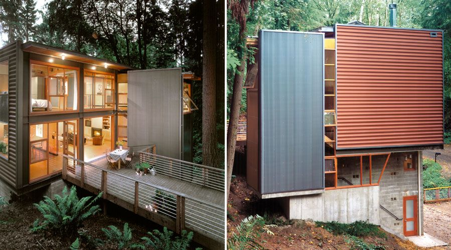 tiny houses an unlikely approach to home tiny spaces. Black Bedroom Furniture Sets. Home Design Ideas