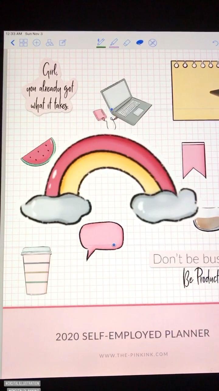 The Pink Ink Shop - Digital Planner Templates