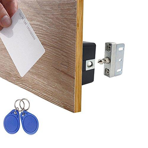 Wooch Electronic Cabinet Lock Kit Set Hidden Diy Lock For Cabinet Drawer Locker Rfid Card Tag Wristband Entry Best Gifts For Men Diy Lock Cool Gifts