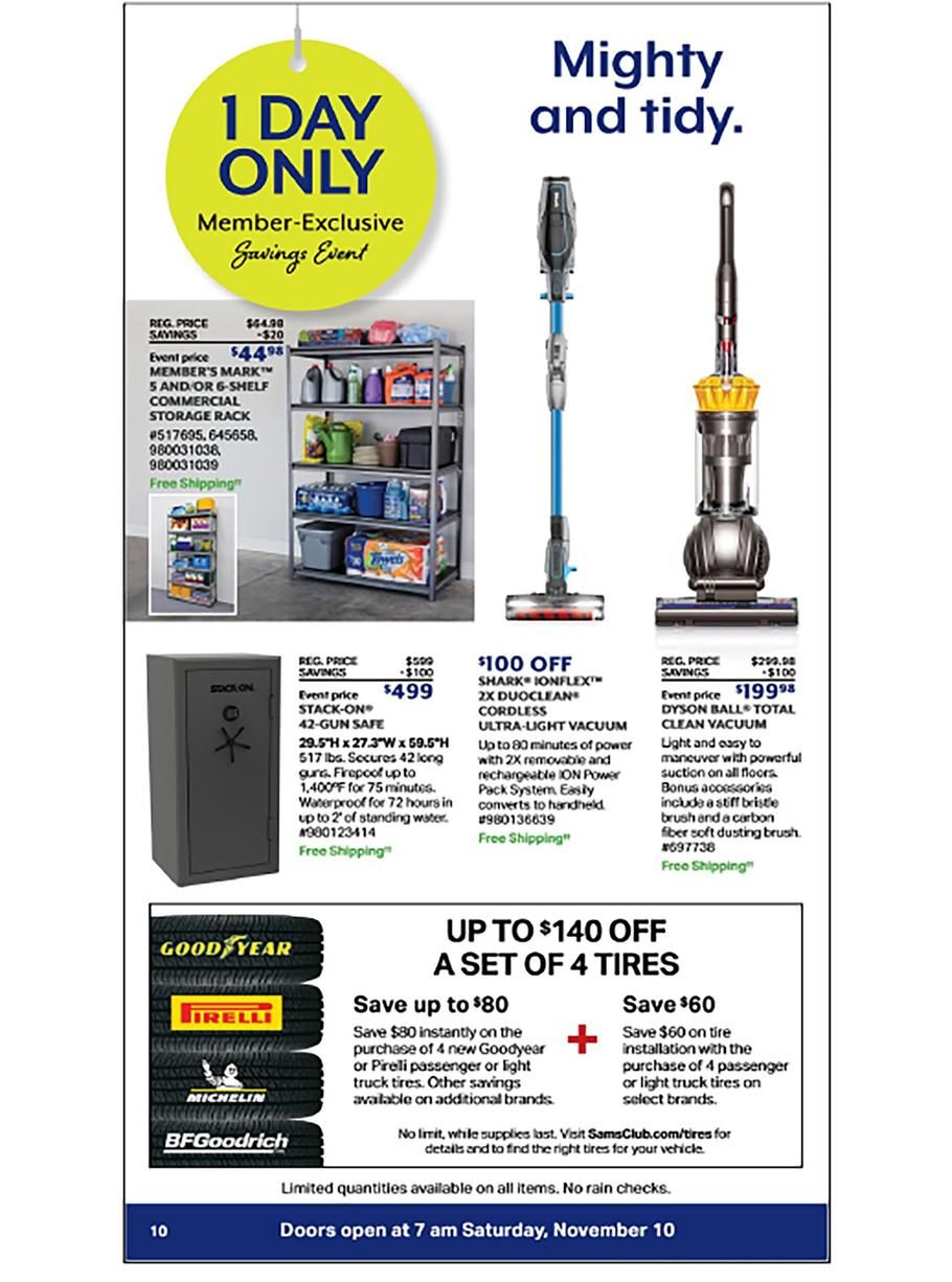 Sam S Club 1 Day Sale 2018 Ads Scan Deals And Sales See The Sam S