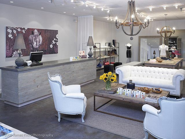 Rhinoceros boutique habachy designs interior design check out area