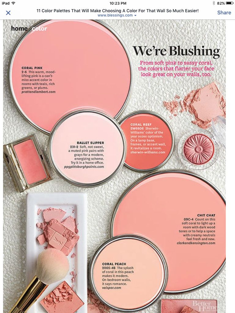Blushing | Home Decor in 2018 | Pinterest | House, Color pallets and ...