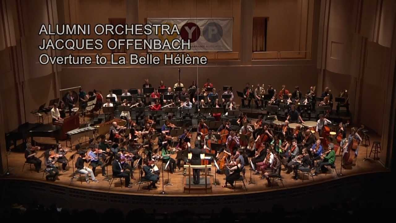 Jacques Offenbach:  Overture to La Belle Helene