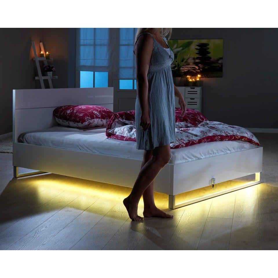 Led Bettlicht Mit Bewegungsmelder Bett Lichter Bettbeleuchtung Licht Mit Bewegungsmelder