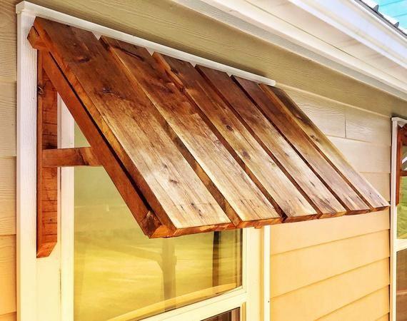 Rustic Home Decor Cedar Door And Window Awning Outdoor Window Awnings Rustic Houses Exterior Rustic House