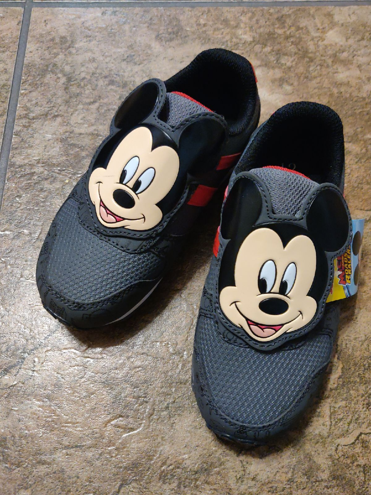 Size 12 Mickey Mouse Sneakers Baby Shoes Sneakers Mickey Mouse