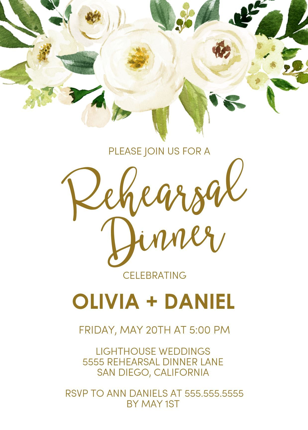 Dinner Invitation Template Simple Rehearsal Dinner Invitations Rehearsal Dinner Invitation Wedding .