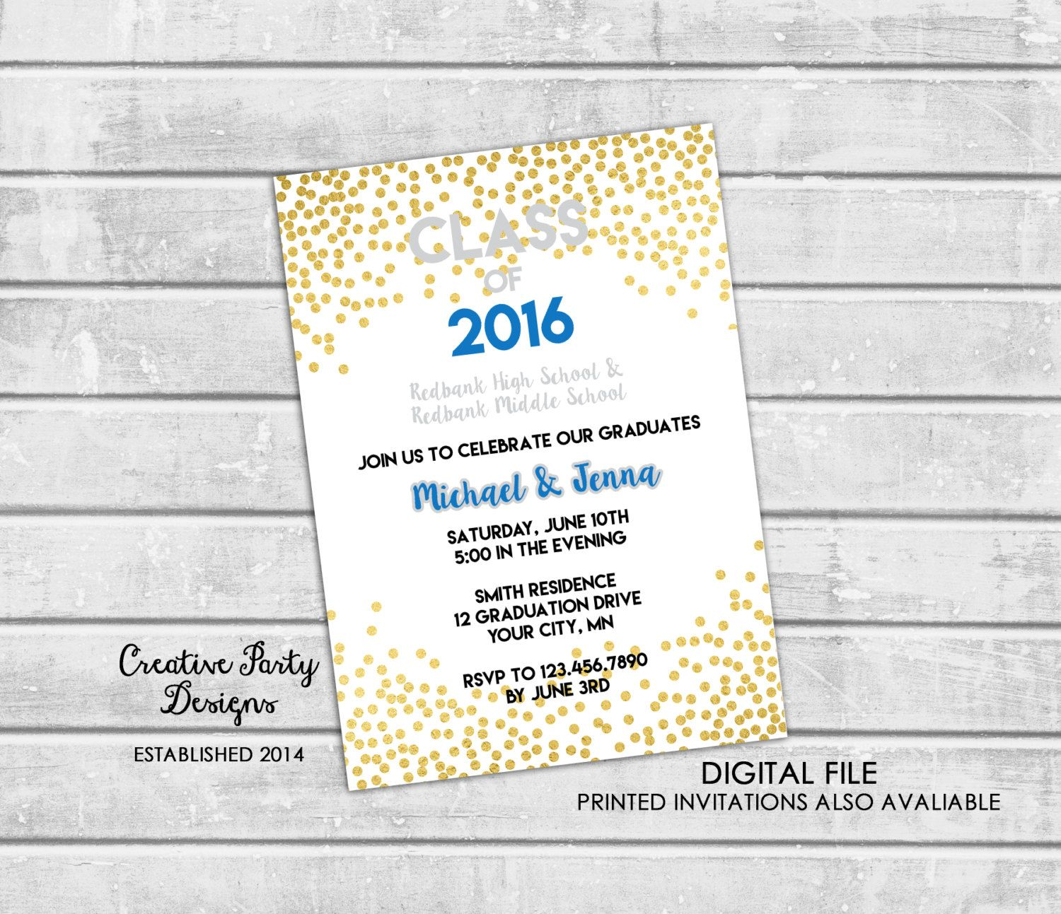 Couples Shower Invitation - Chalkboard Couples Shower Invitation ...