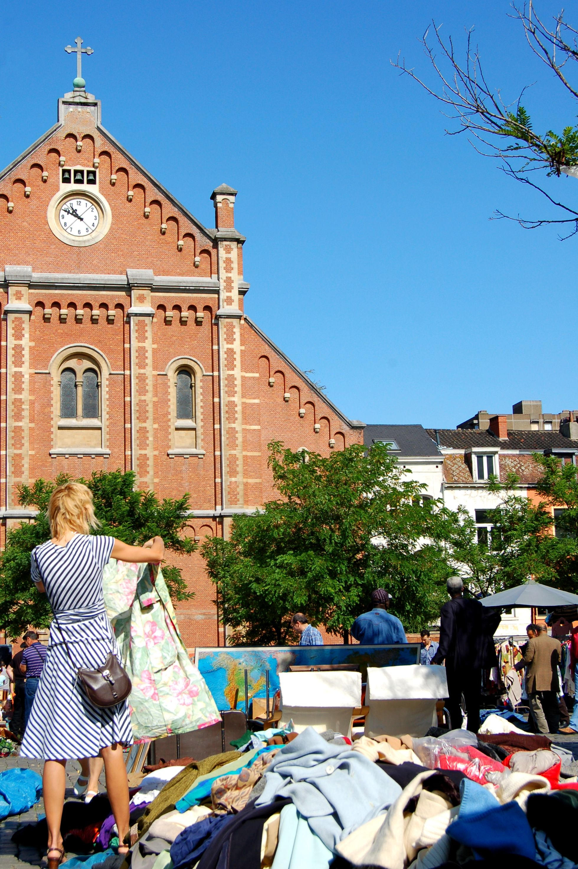 Vossenplein, the best place to go vintage shopping